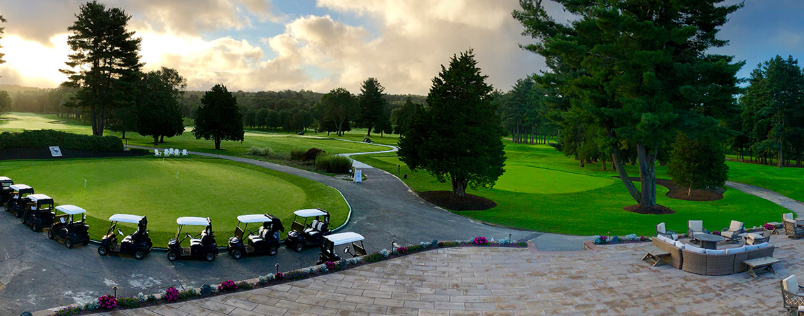 The Cape Club of Sharon view from clubhouse
