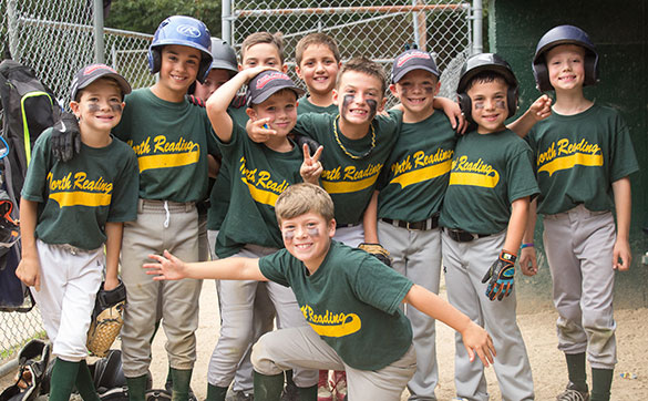 Support Jimmy Fund Little League players and Dana-Farber