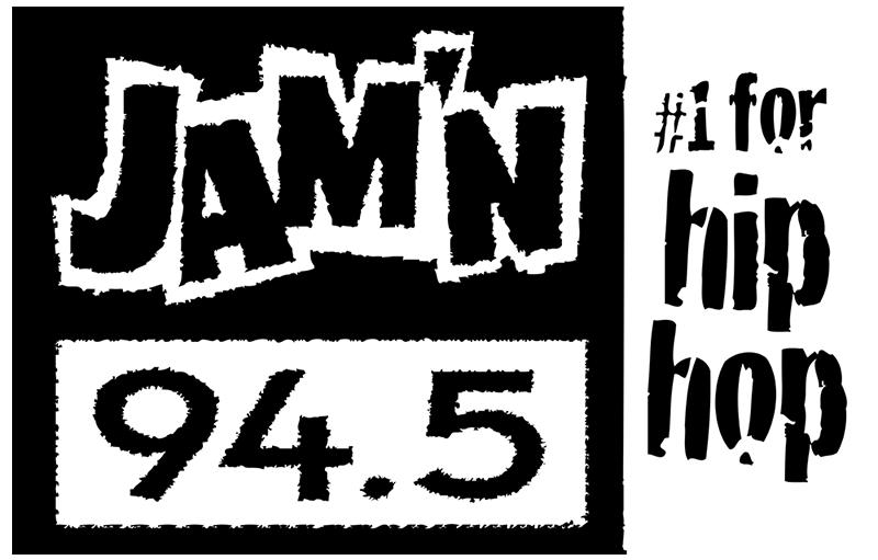 JAM'N 94.5 FM logo