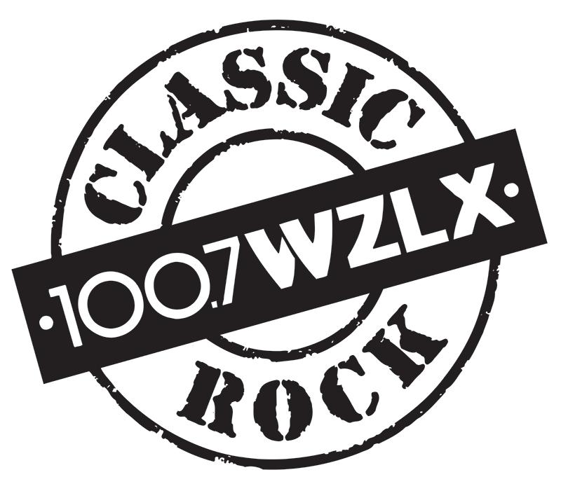 100.7 WZLX logo
