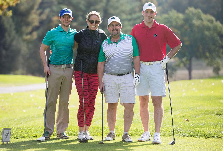 Sunrise to Sunset Jimmy Fund Golf Tournament participants