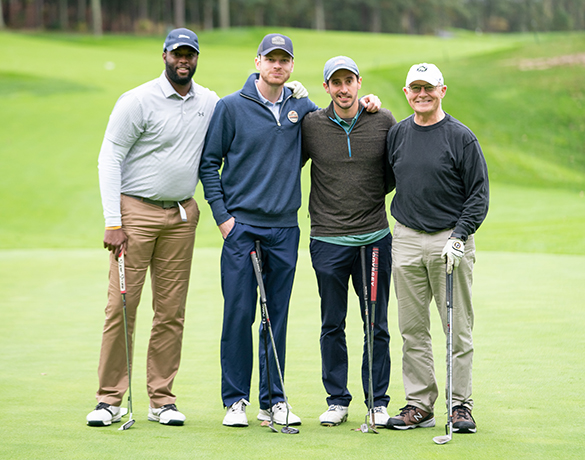 Sunrise to Sunset Jimmy Fund Golf Tournament participants