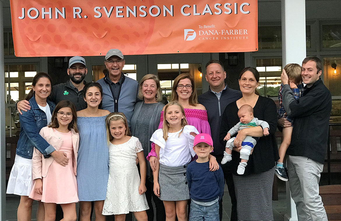 John R. Svenson Classic committee members and family
