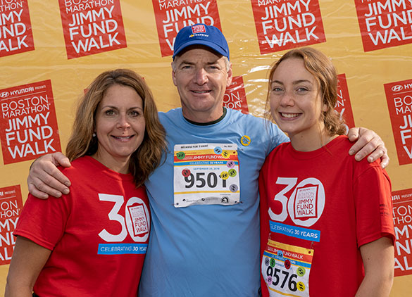 The featured event for fundraising at the 2018 Boston Marathon Jimmy Fund Walk