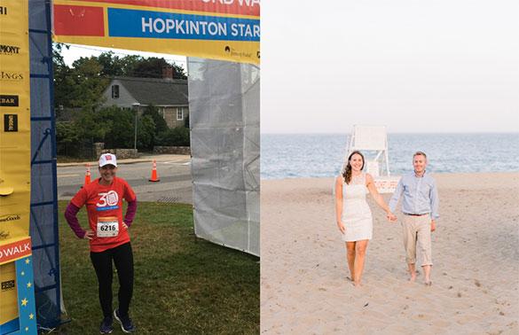 Featured Virtual Walker from a past Boston Marathon Jimmy Fund Walk