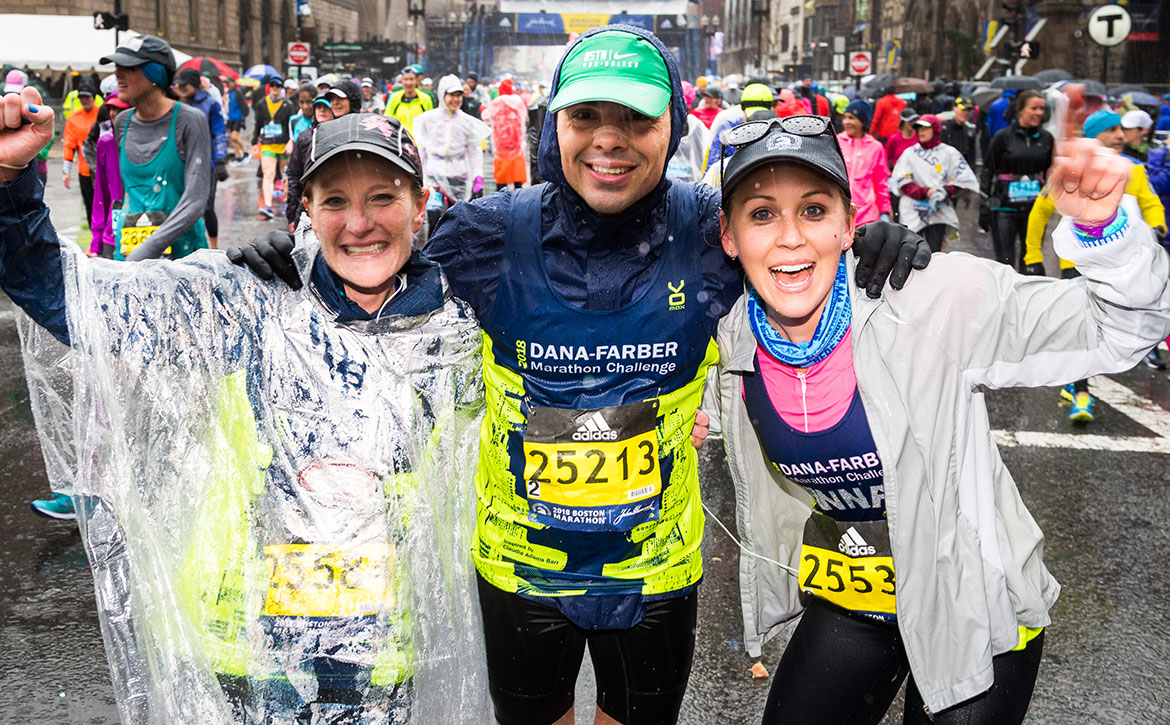 Run with the Dana-Farber Marathon Challenge to help fight cancer