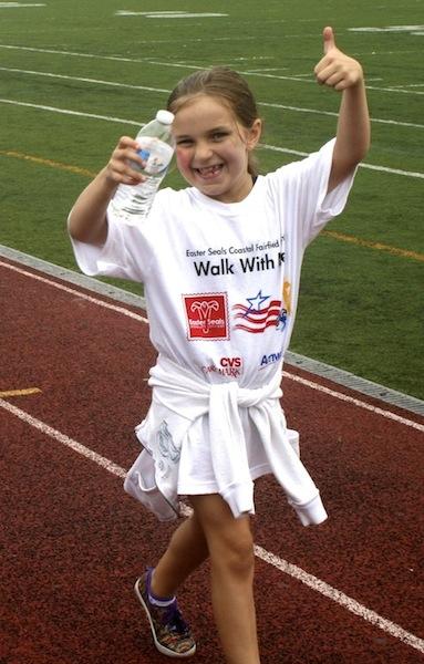 Little Girl Thumbs Up WWM 2013