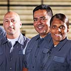 Smiling workers