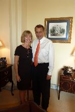 Sandy and John Boehner