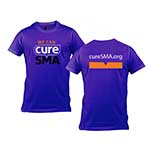 Click here for more information about Purple Cure SMA T-Shirt
