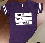 Click here for more information about Women's Est. 1984 Purple Jersey Tee