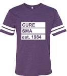 Click here for more information about Men's Est 1984 Purple Jersey Tee