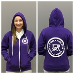 Click here for more information about A Cure SMA Unisex Full Zip Hoodie