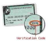 Verification Code American Express
