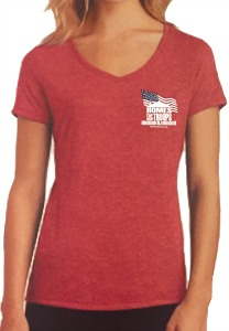 Ladies T-shirt - RED FROST.jpg