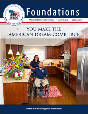 Home For Our Troops Latest Foundations Newsletter