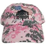 Click here for more information about Baseball Cap - Pink Camo