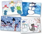 Click here for more information about Snowman Holiday Card Variety Pack