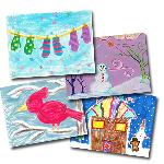Click here for more information about Whimsical Holiday Card Variety Pack