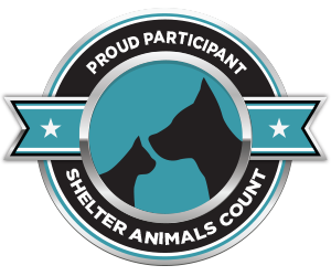 Proud participant in Shelter Animals Count