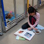 Shelter Buddies Reading Program at HSMO's Maryland Heights Best Buddy Center
