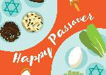 Click here for more information about Passover Card Seder Plate