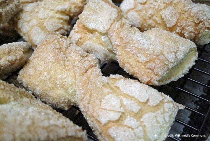 Jewish Bow Tie Cookies