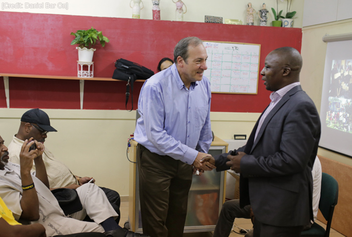 The Fellowship Partners with African-American Churches