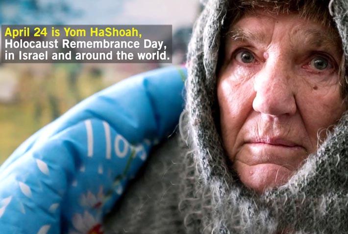 Honour a Suffering Holocaust Survivor Today