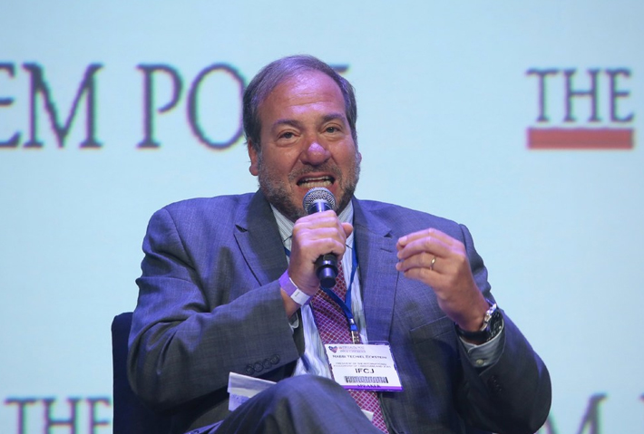 Rabbi Eckstein Speaks at JPost Conference