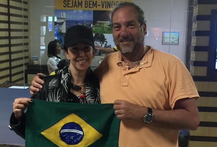 Rabbi Eckstein Visiting Fellowship Office in Brazil