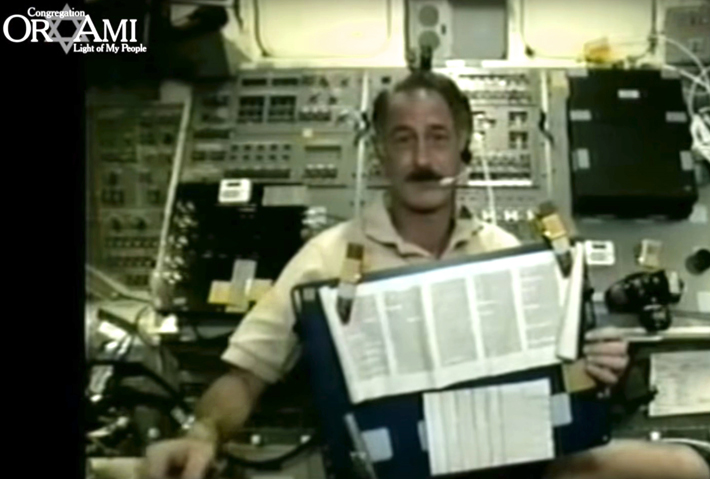 Space Torah: The Holy Scroll's Journey to Outer Space