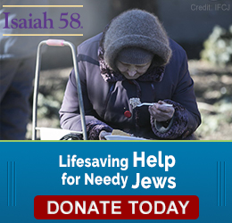 Lifesaving Help for Needy Jews