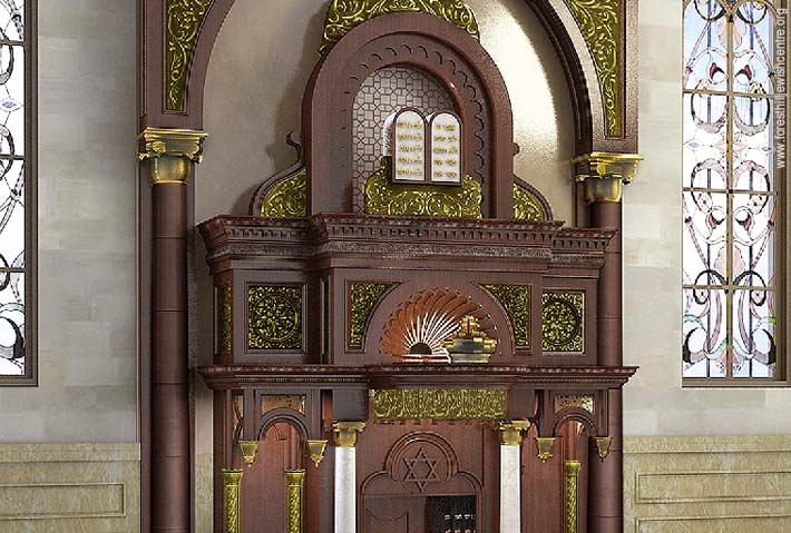 Polish Synagogue Recreated in Toronto