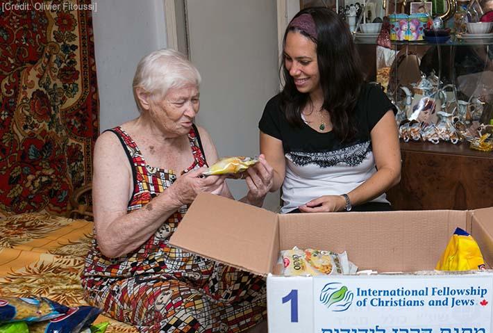 High Holy Days Help for Elderly Jews