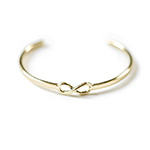 Click here for more information about JustOne Brass Infinity Cuff