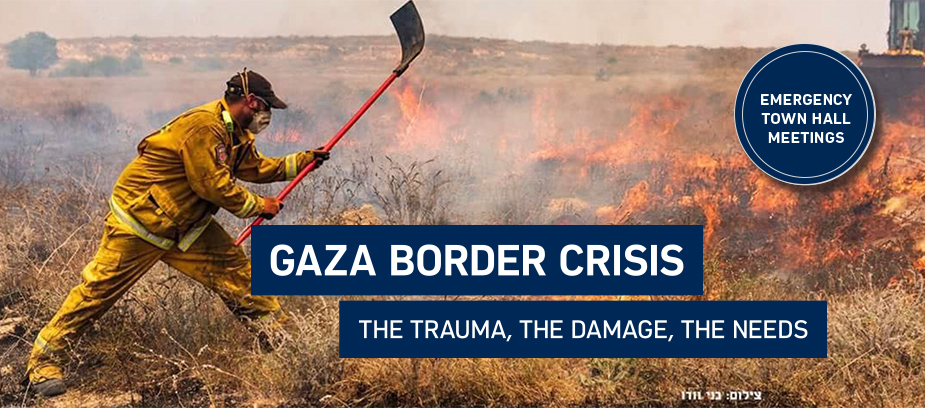 Donate to Israel and help the people of on the Gaza border impacted by kite terrorism