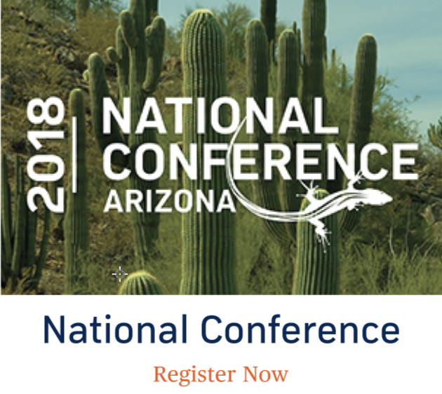 2018 National Conference in Arizona - See you there