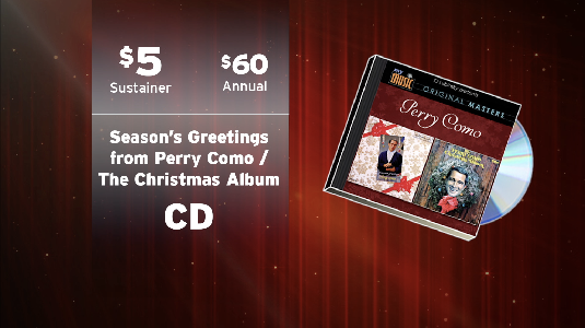 Kpbs description one of the greatest voices of christmas perry como recorded a pair of classic holiday albums in 1959 and 1968 that are presented together for m4hsunfo