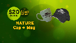 Click here for more information about Nature Cap + Mug