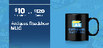 Click here for more information about Antiques Roadshow Mug with KPBS logo