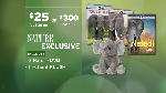 Click here for more information about Nature: Naledi 3 DVD Set + Elephant Plush