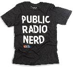 "Click here for more information about NPR ""Public Radio Nerd"" T-Shirt (Large)"