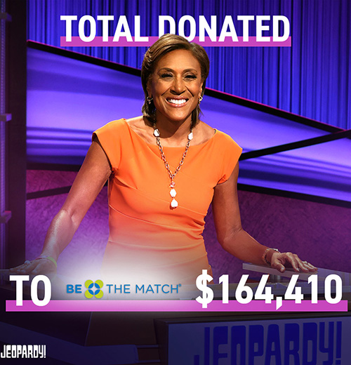 Picture of Robin Roberts on Jeopardy