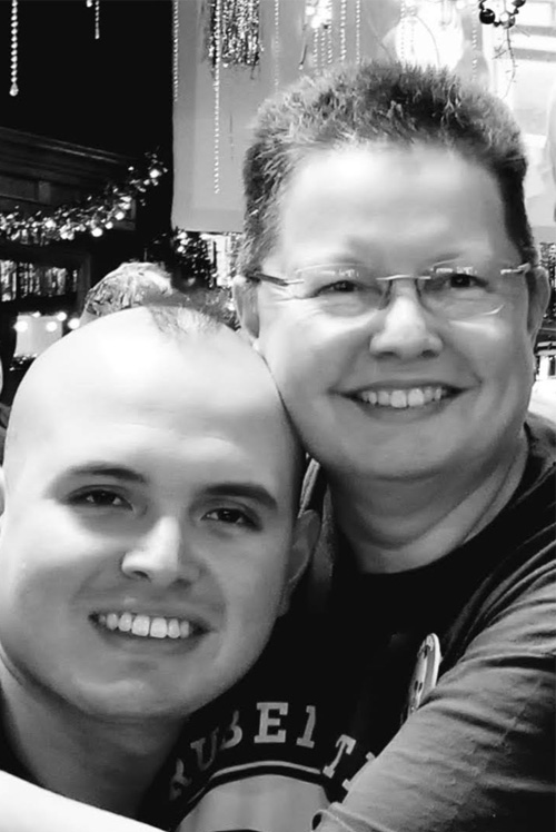 Picture of Ruben with his mom