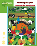 Click here for more information about Charley Harper's Gorman Heritage Farm 300-Piece Puzzle