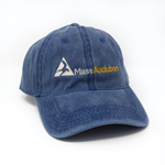 Click here for more information about Mass Audubon Blue Baseball Cap
