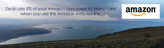 Support Mono Lake through Amazon Affiliates too!