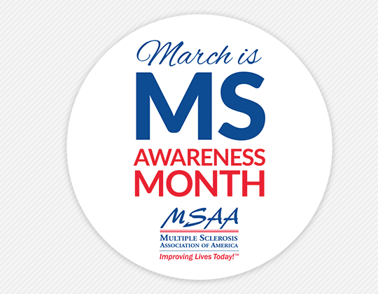 March is MS Awareness Month