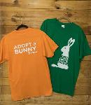 Click here for more information about Adopt a Rabbit Short Sleeved T-Shirts